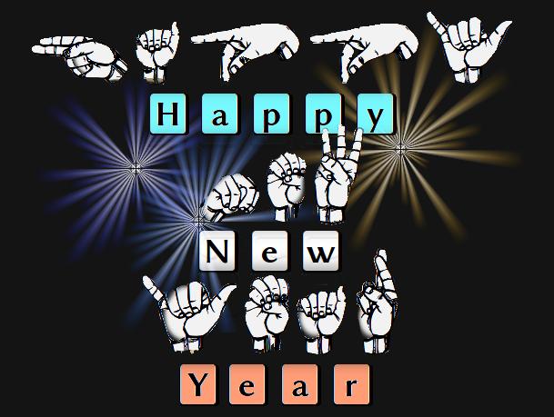 Happy New Year ASL