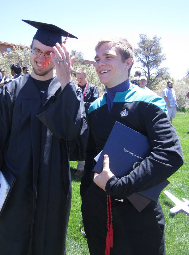 Star Trek Graduation